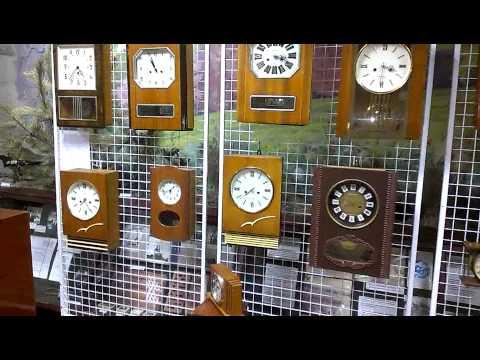 Коллекция старинных часов Ковригиных