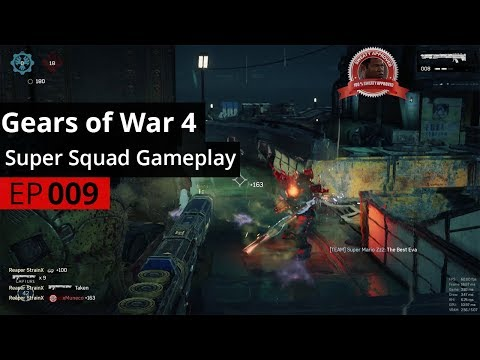 """Gears of War 4 Gameplay """"Harbor Sweat"""" - (Super Squad Ep. 9)"""