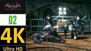 4K-BATMAN ARKHAM KNIGHT MASTER FIGHT PART 2(KNIGHTMARE-NO DAMAGE-NO UPGRADES).