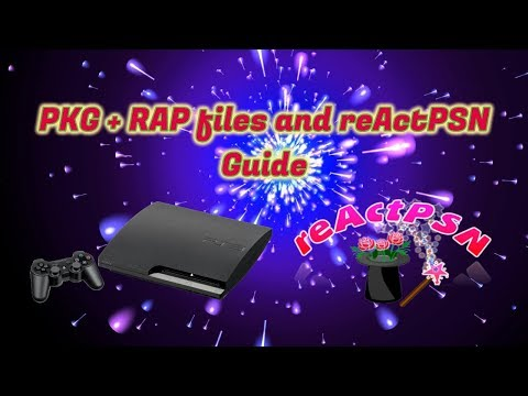 PKG + RAP Files and reActPSN Guide