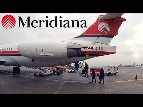 FLIGHT REPORT / RETRO MERIDIANA MD-82 / MILAN - OLBIA