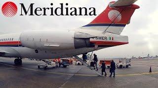 FLIGHT REPORT / RETRO MERIDIANA MD-82 / MILAN - OLBIA