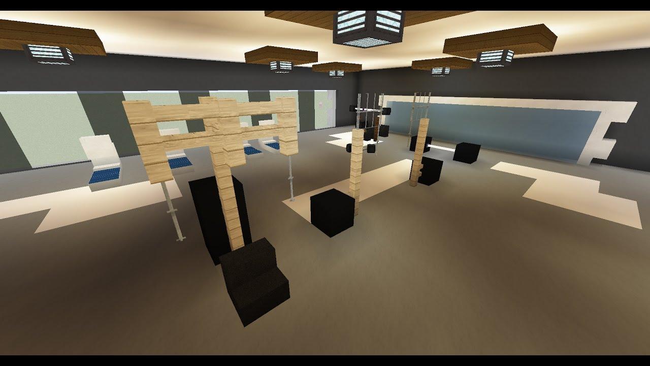 La Ville Moderne Deco De La Salle De Musculation 87