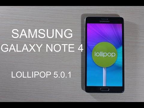 Samsung Galaxy Note 4 Oficial Android 5.0.1 Lollipop - Review en Español