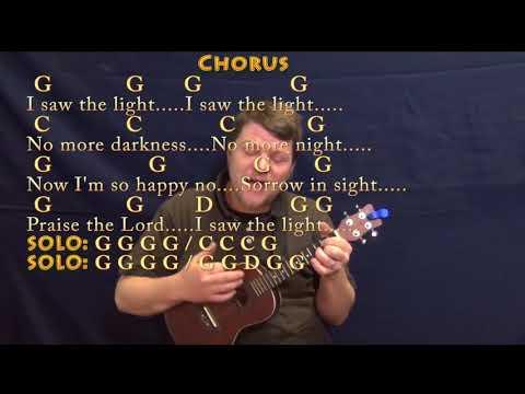 I Saw The Light Ukulele chords by David Crowder Band - Worship Chords