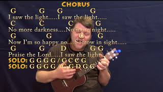 I Saw The Light (Hank Williams) Ukulele Cover Lesson in G with Chords/Lyrics