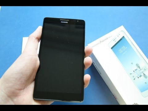 Huawei Ascend Mate - Unboxing