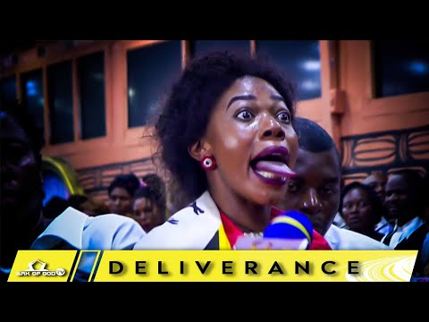 A WOMAN TURNS TO GIANT SNAKE IN CHURCH - MUST WATCH!!! ARK OF GOD TV