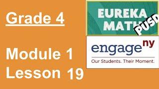 Eureka Math Grade 4 Module 1 Lesson 19