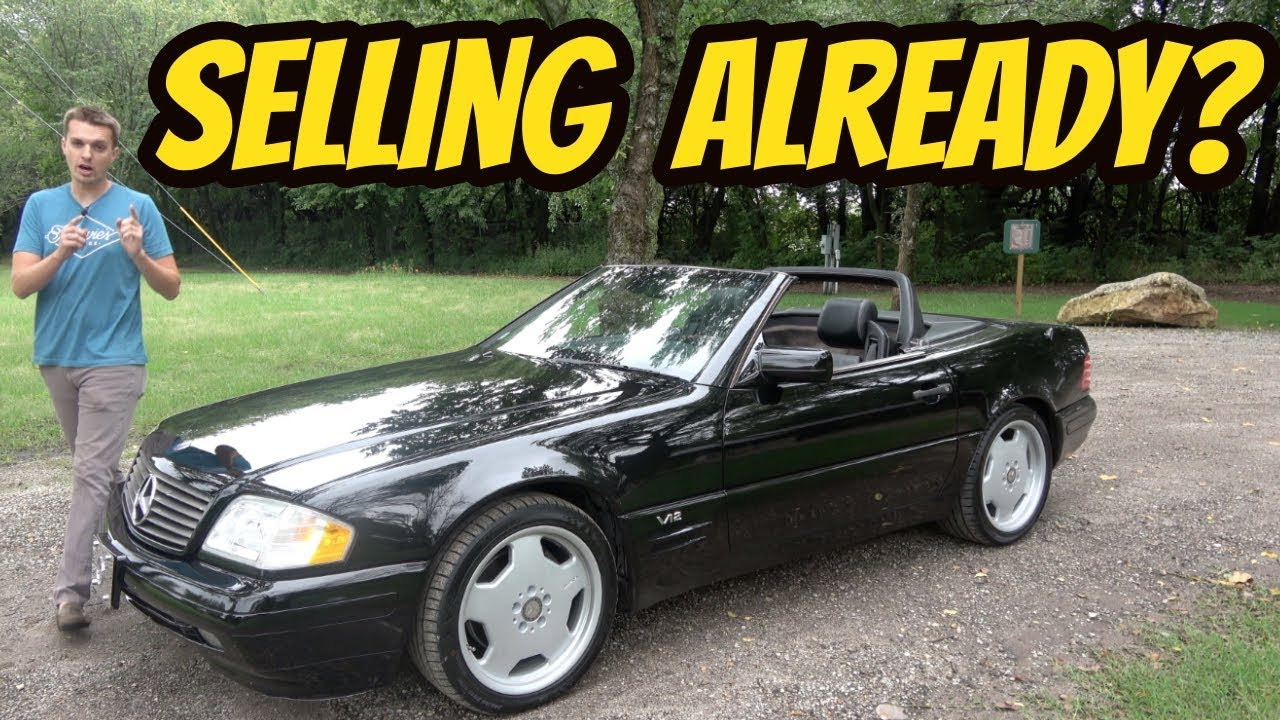 Heres Everything I Love About My Cheap V12 Mercedes Sl600 And Everything I Hate