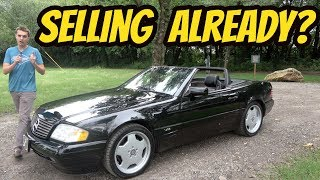 Here's Everything I Love About My Cheap V12 Mercedes SL600 (And Everything I HATE)