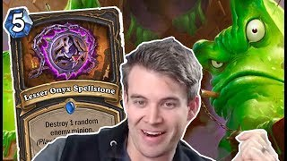 (Hearthstone) Deathrattle Rogue Meets Carnivorous Cube
