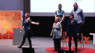 Live Improv Theater   Bake This   TEDxTUM