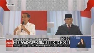 Debat Capres Jokowi-Prabowo Soal Pertahanan, Keamanan & Hubungan Internasional