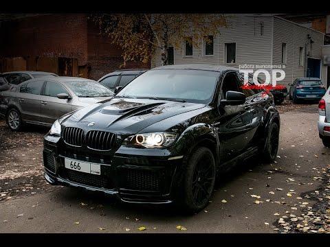 Тюнинг BMW X6 - Обвес Tycoon EVO M - Часть 3 - Покраска и сборка