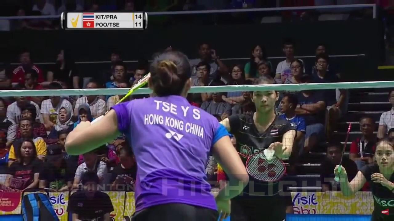 Badminton 2017 MalaysiaMaster Final Jongkolphan KITITHARAKUL