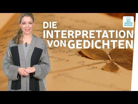 Wie Schreibe Ich Eine Gedichtanalyse? I Musstewissen Deutsch