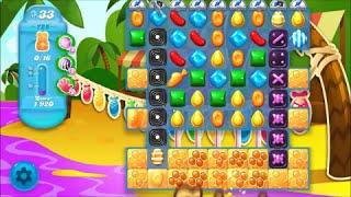 Candy Crush Soda Saga Level 725 - No boosters
