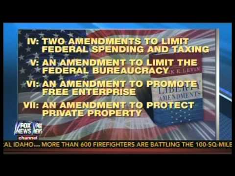 """Mark Levin on HANNITY Live Audience """"The Liberty Amendments"""" (Restoring Our Republic) Fox News"""