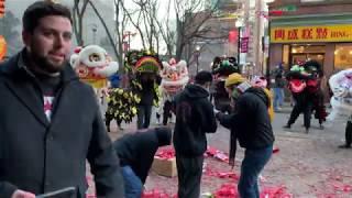 Download Video Chinatown Boston Lunar New Year Lion Dance parade & kung fu  功夫 2019 春节 6   múa lân / 舞狮 MP3 3GP MP4