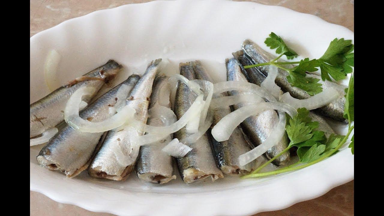 КИЛЬКА ПРЯНОГО ПОСОЛА. Как быстро почистить мелкую рыбу?