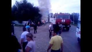 Авария в Агрызе 11.07.2013