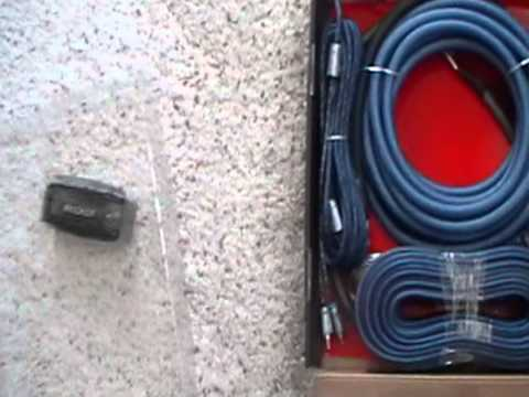 kicker 1000 amp watt power kit (4 awg)