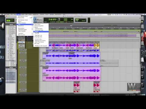 Comping Vocals in Pro Tools 11 - Playlists & Clip Ratings Pt  2 | Westlake Pro