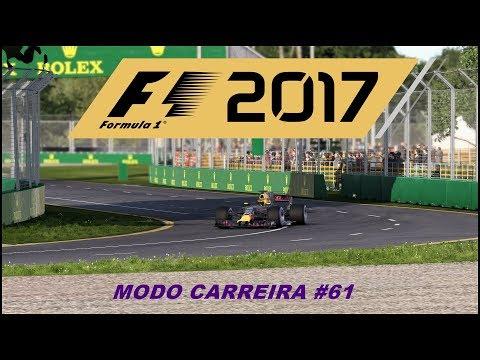 F1 2017 MODO CARREIRA #61 (AUSTRÁLIA):VETTEL E A FERRARI SOBRANDO,E AGORA? PREOCUPAÇÃO A VISTA?