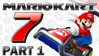 Let's Play Mario Kart 7 - Part 1 (Vroom Vroom)