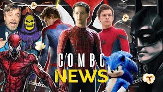 Sonic más taquillera, Carnage y Batman primer imagen, nueva de Spiderman, Skeletor y más #ComboNews