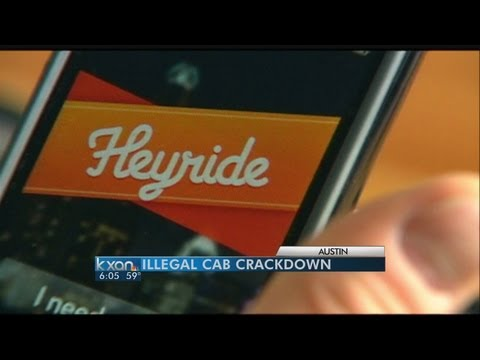 Illegal cab crackdown