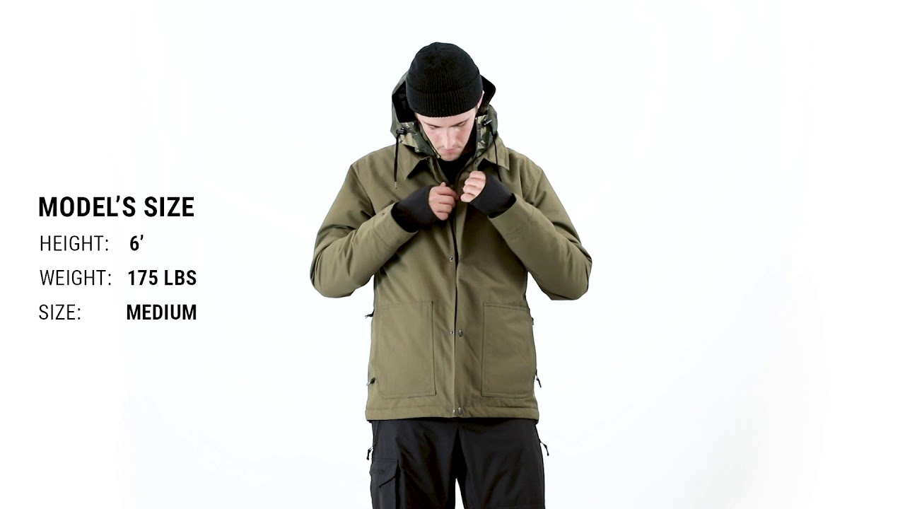 Airblaster Work Insulated Snowboard Jacket Fit Review Tactics