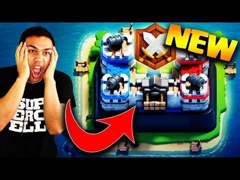 CLASH ROYALE CLAN WAR IS HERE!! FIRST LOOK!