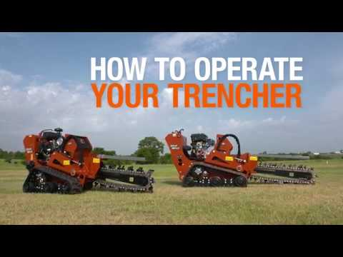 Trenching With The Ditch Witch C16x And C24x