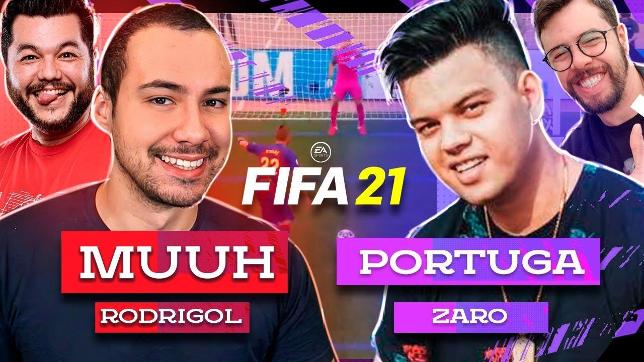 TESTANDO O NOVO MODO DE JOGO NO FIFA 21!