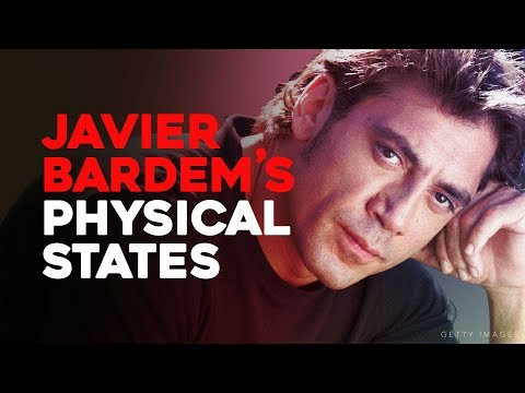 From Charisma To Terror: Javier Bardem's Physical States