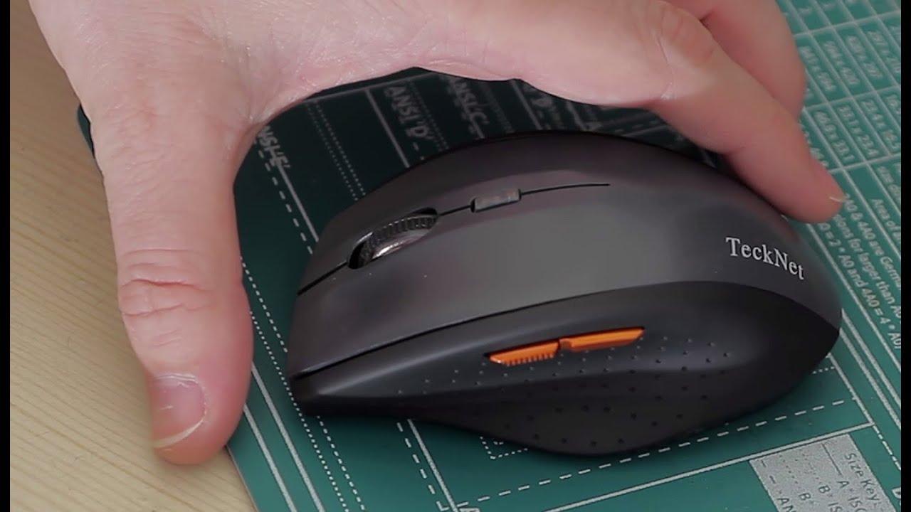 18f2fecc65e TeckNet M002 mouse quick review - YouTube