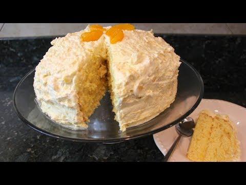 Mandarin Orange Cake Recipe | Pig Pickin Cake | Easter Sunshine Cake
