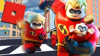 BECOMING MR INCREDIBLE IN ROBLOX