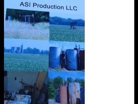 Crawford County Illinois. Producing tract of oil production with 20 wells and 5 injection