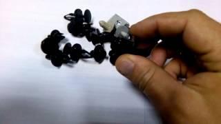 Обзор Ходовых пластиковых клипс (пистоны для иномарок) часть 1