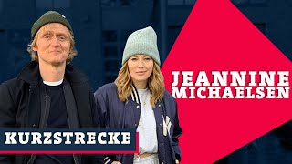 Jeannine Michaelsen verpasst Pierre einen sportlichen Einlauf