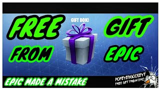 Free Gift From Epic*Epic Made A Mistake*Fortnite Save The World