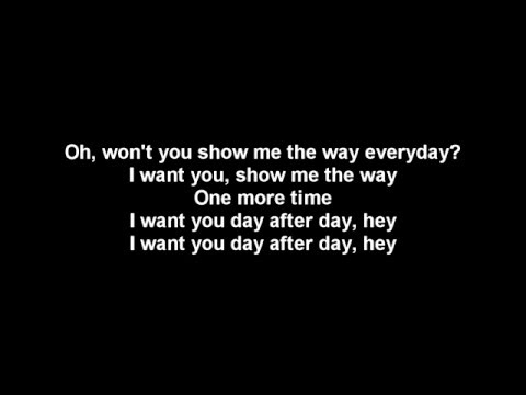 Show me the way - Peter Frampton - lyrics