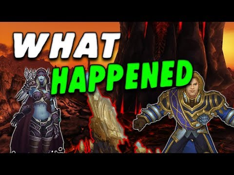 Let's Talk about Sylvanas and Anduins Reactions to touching the Azerite