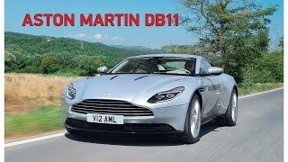 Тест-драйв Aston Martin DB11 | журнал Quattroruote