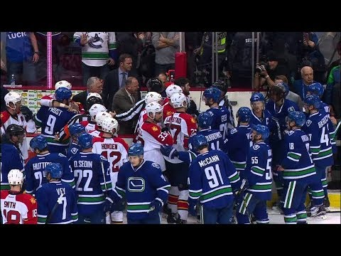 NHL Bench Clearing Brawls