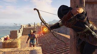 Assassin's Creed Odyssey -  Master Assassin Prodigy Pure Stealth Kills & Assassinations