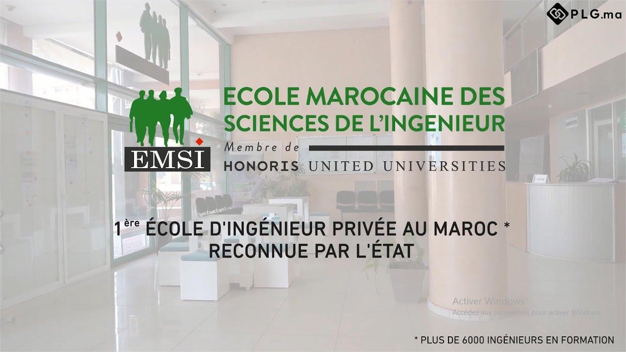 PLG : Vidéo promotionnelle du nouveau site de l'EMSI Marrakech - Conception 3D